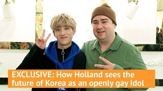 Video EXCLUSIVE: How Holland sees the future of Korea as an openly gay Idol download MP3, 3GP, MP4, WEBM, AVI, FLV November 2019