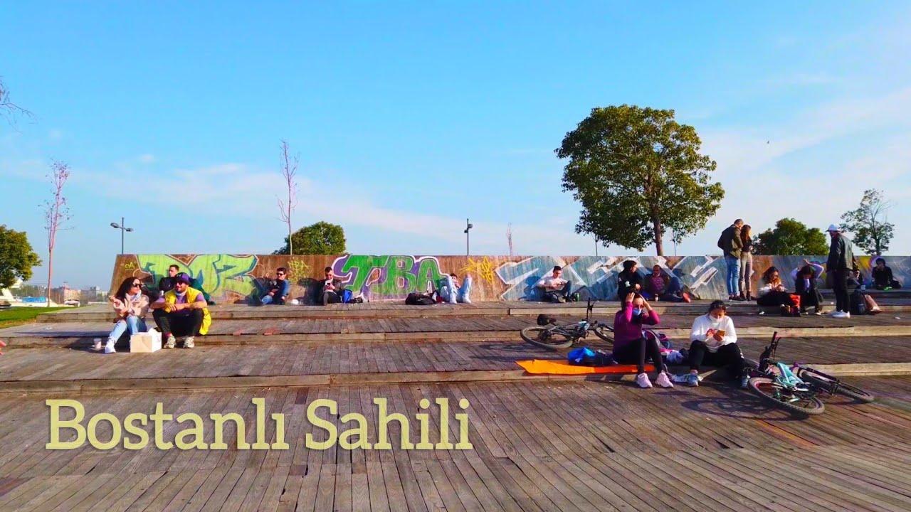 4K Walking in Izmir Karşıyaka: Bostanlı Sahil Yürüyüşü | Turkey 2021