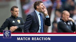 REACTION | Steven Gerrard | Rangers 2-0 St Mirren