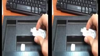 Comment insérer la carte SIM ou la carte micro-SD dans l'adaptateur DWM-156