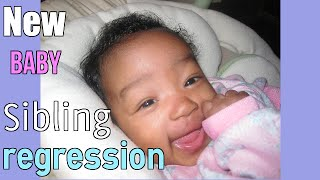 New Baby: Dealing with Sibling Regression