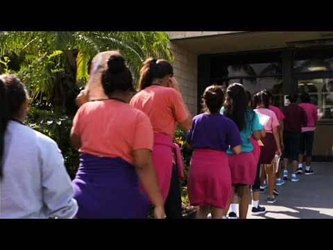 Press Tours Center For Migrant Minors In Florida