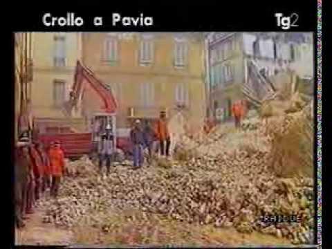 CrolloTorre civica di  Pavia TG2 TG1 by Costante Bonvini