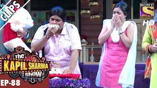 Bumper Spoiling Sarla's Birthday Celebration  - The Kapil Sharma Show - 11th Mar 2017