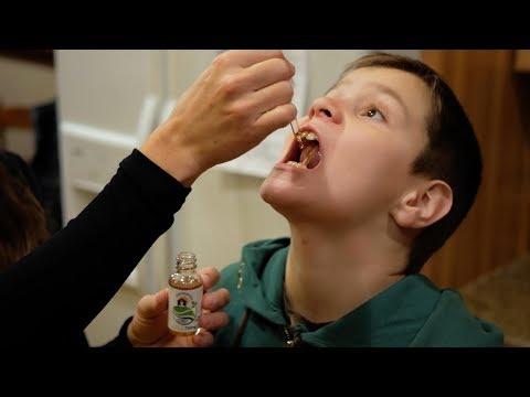 Autism Son Tries CBD Oil