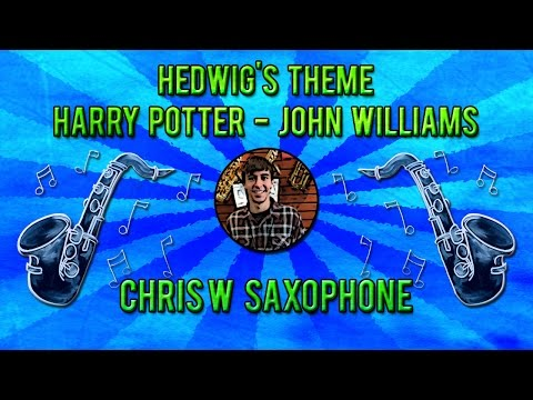 """Hedwig's Theme"" Alto Sax Cover - Harry Potter, John Williams"