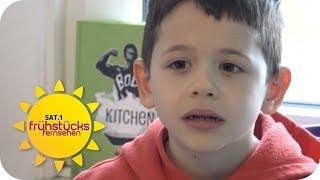 AUTISTISCHE KINDER: Selim und Sami (8) brauchen Toleranz | SAT.1 Frühstücksfernsehen | TV