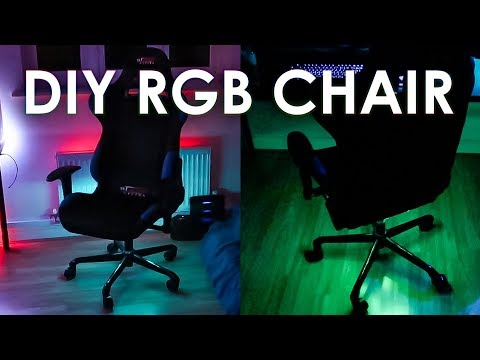 DIY RGB LED Gaming Chair Mod