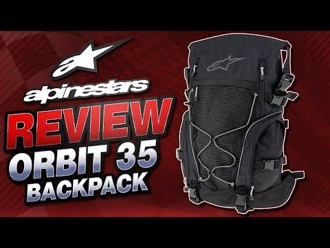 2f1b2360345 Смотреть видео Alpinestars Orbit 35 Backpack Review from  Sportbiketrackgear.com онлайн, скачать на мобильный.