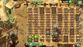Wild West Day 20 - Plants vs Zombie 2 Walkthrough