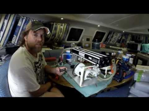 Sailboat Refit - Episode 5 - Watermaker Build & 840 Watts of Solar Power