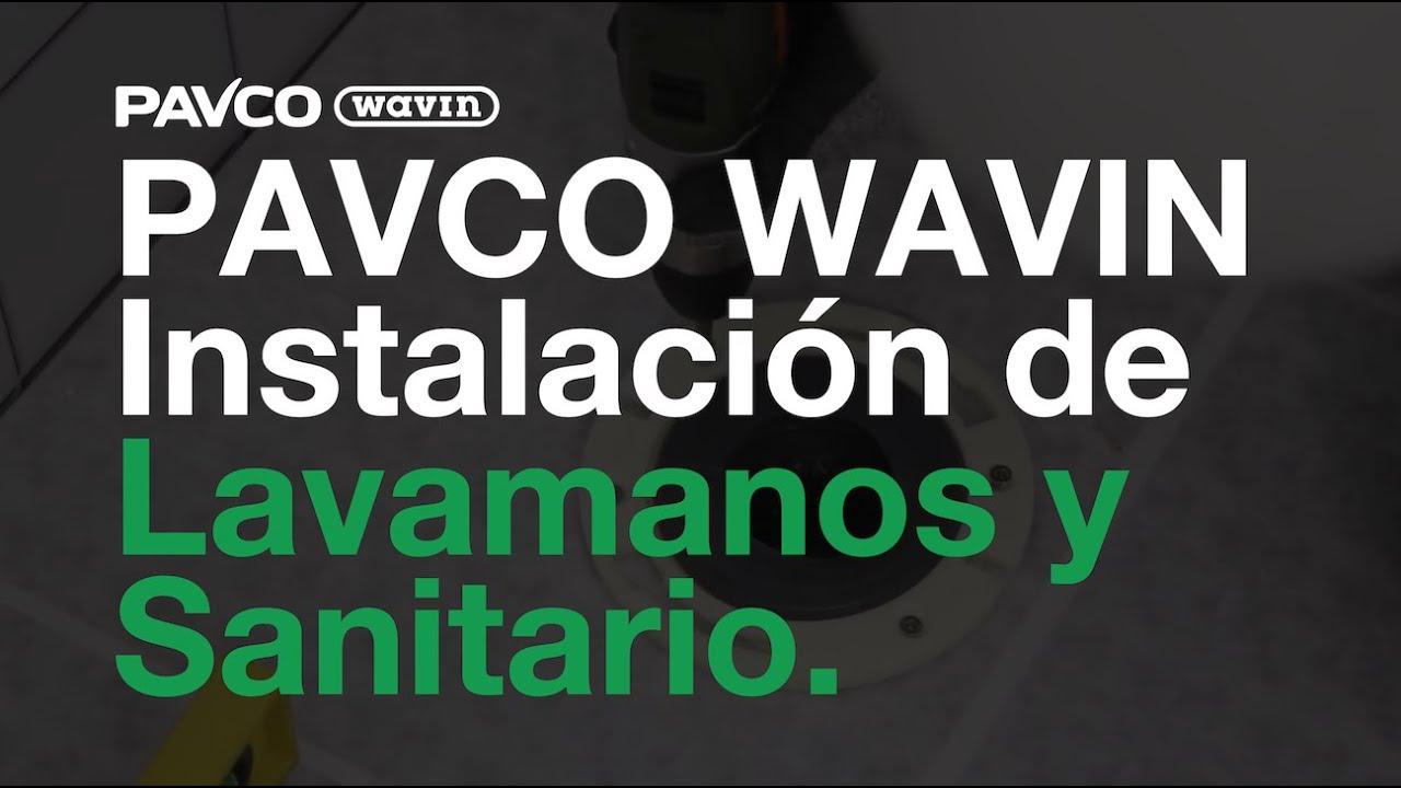 PAVCO Instalacin de Lavamanos y Sanitario  YouTube
