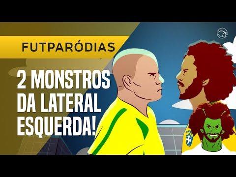 FUTPARÓDIAS: MARCELO VS ROBERTO CARLOS  FUTDUELO 10 NA LATERAL ESQUERDA