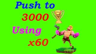 Outdated: Clash of Clans Builder Base - How to Push to 3000 Trophies Using Maxed Barbarians - CoC