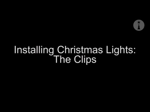 christmas lights installation the clips youtube