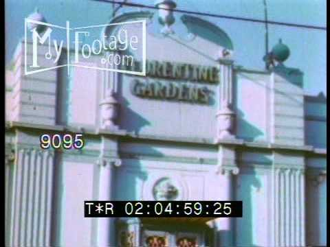 1930 Hollywood famous landmarks, motion picture industry and nightlife