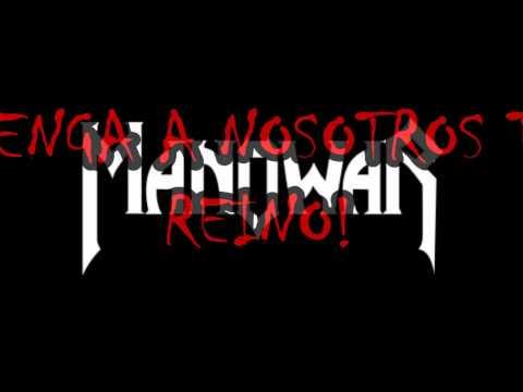 Manowar   Kingdom Come (Sub Español)