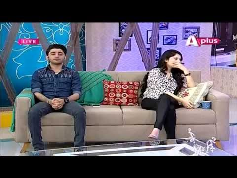 Good Morning Zindagi , 10 April 2015 ,With Neelum Munir and Amanat Ali , Morning Show , APLUS