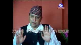 Nepal's Former King Gyanendra Shah Exclusive Interview with Sagarmatha Television Part 1