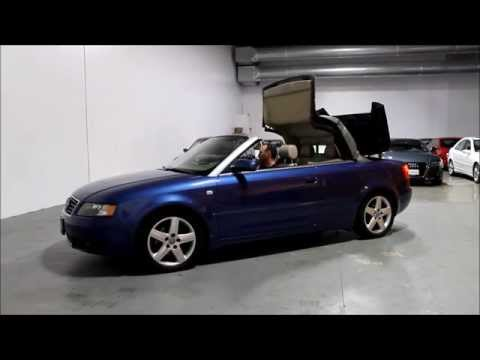 2004 audi a4 cabriolet portland oregon youtube. Black Bedroom Furniture Sets. Home Design Ideas