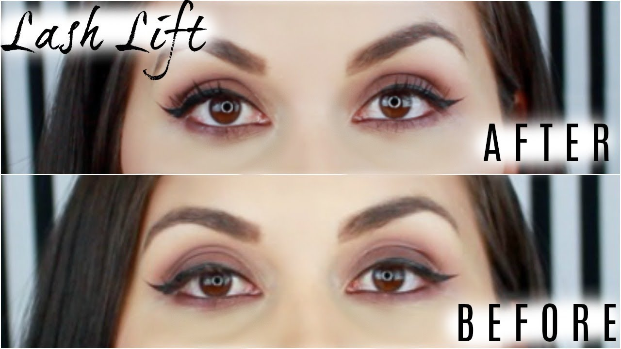 Lash Lift And Tint How It Works Is It Worth It Youtube