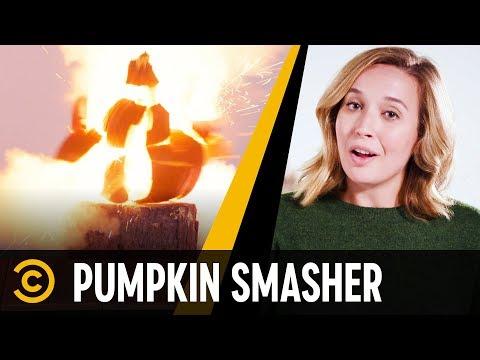 Pumpkin-Smashing Therapy – Mini-Mocks