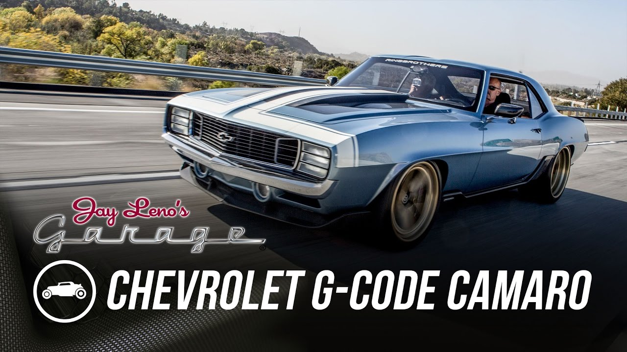 Ring Brothers Chevrolet G Code Camaro Jay Leno S Garage