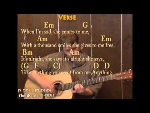 Little Wing (Jimi Hendrix) Guitar Cover Lesson with Chords and ...