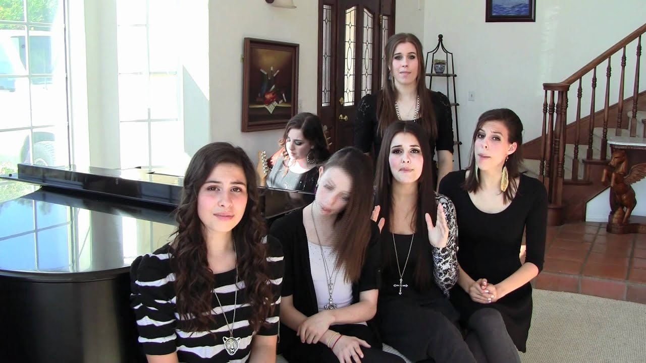 Quot Someone Like You Quot By Adele Cover By Cimorelli Youtube
