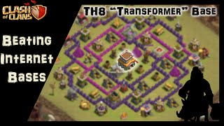 Clash of Clans | How to 3 star the TH8 Transformers Base | Attack by JuiceBox