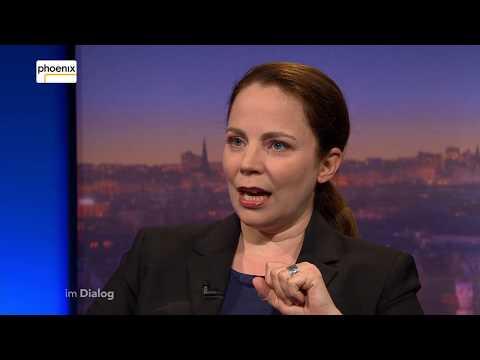 """""""Im Dialog"""": Thea Dorn im Gespräch mit Alfred Schier am 01.06.18"""