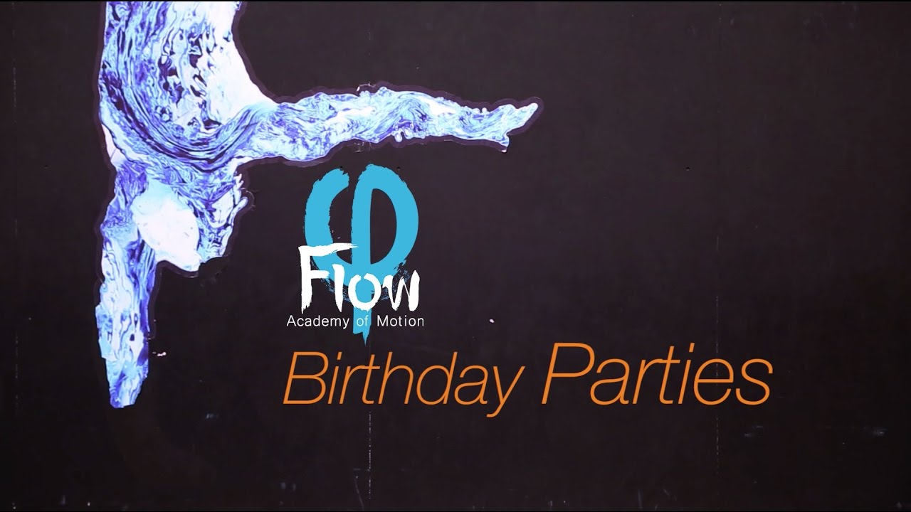 Have your birthday at Flow!
