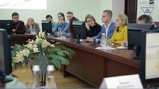 Встреча студенческого актива трех университетов в ГрГУ имени Янки Купалы.