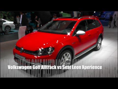volkswagen golf alltrack 2015 vs seat leon xperience 2015. Black Bedroom Furniture Sets. Home Design Ideas