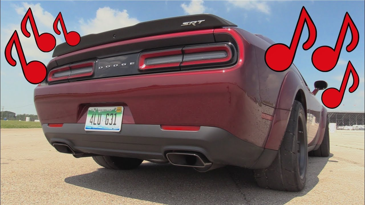 Is the Demon the Best Sounding Muscle Car Ever? - YouTube