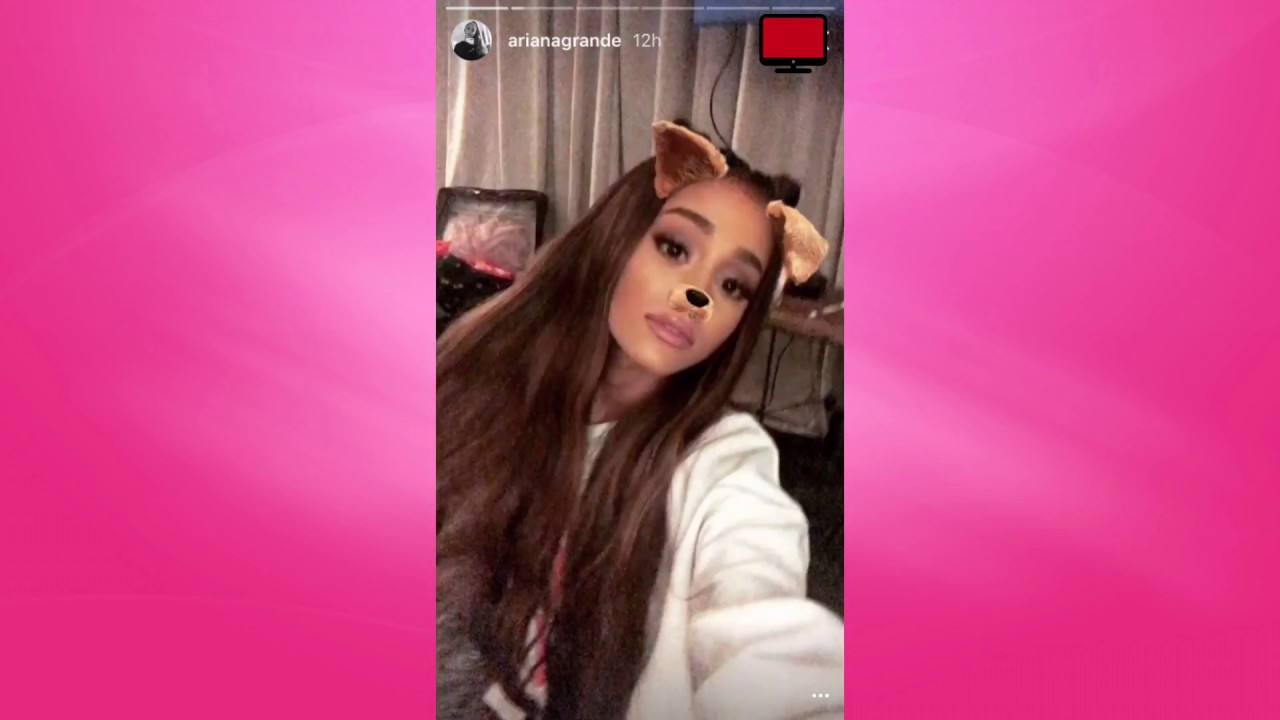 Ariana Grande's Instagram Story - July 1st 2017 - YouTube