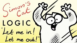 In or Out? Why Are Cats So Indecisive?! - Simon's Cat | Cat Logic thumbnail