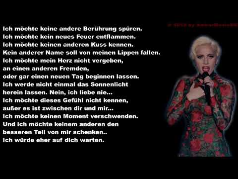 Lady Gaga - I'll Never Love Again (Deutsche Übersetzung)