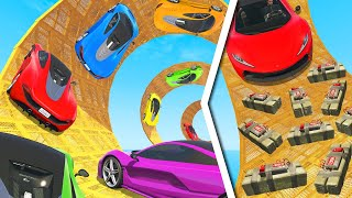 Survive The STICKY BOMB TROLL Race! (GTA 5 Funny Moments)