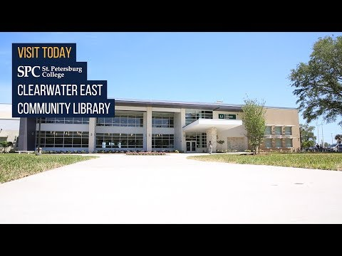 Welcome To SPC's Clearwater East Community Library