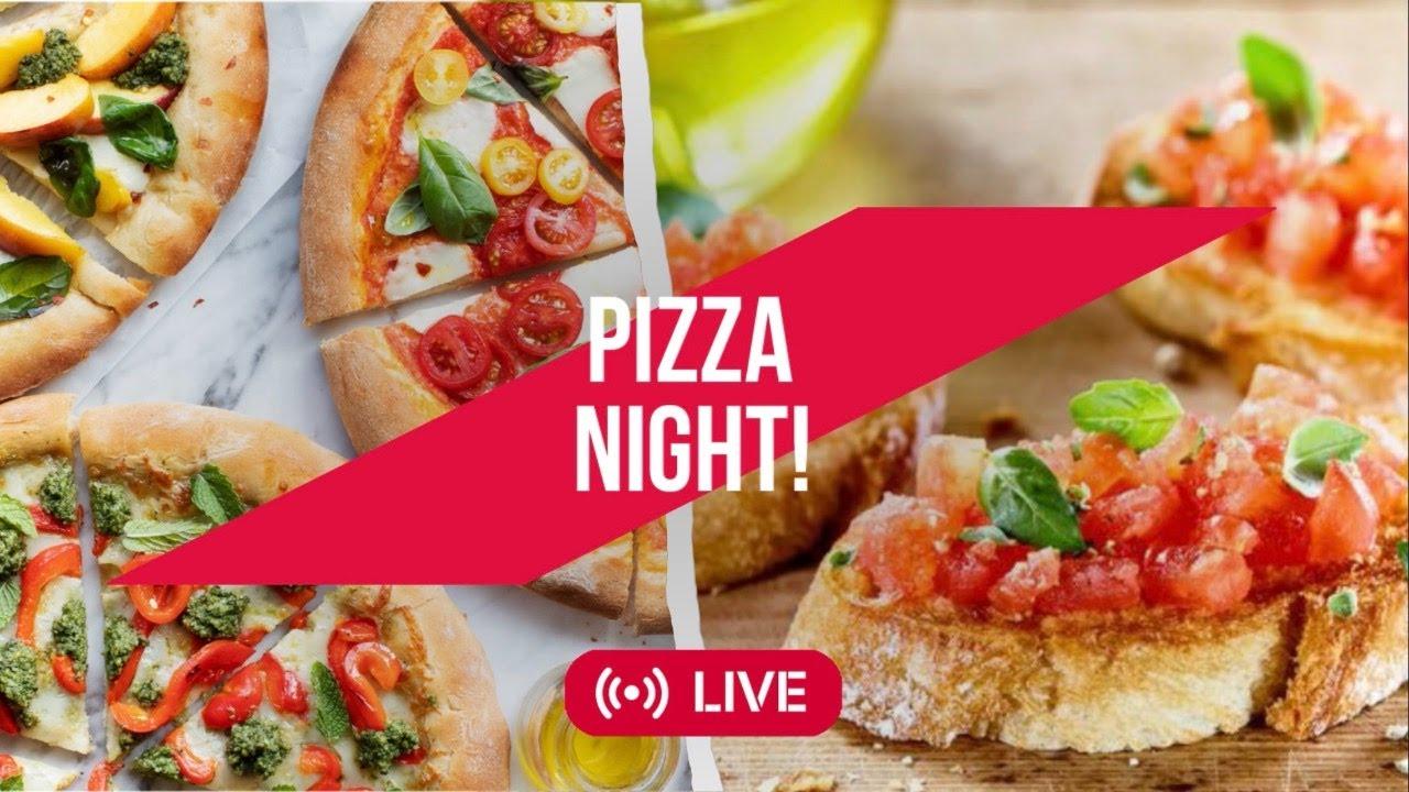 COZINHAR JUNTOS - Pizza Caseira & Bruschettas! 🍕