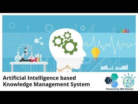 Artificial Intelligence based Knowledge Management System - IBM Watson
