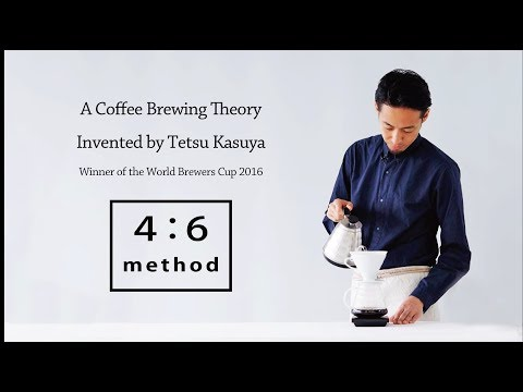 """A Coffee Brewing Theory """"4:6 method"""" Invented by Tetsu Kasuya_ World Brewers Cup 2016 Champion"""