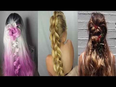 Top 10 amazing Hairstyles for party/function 🌺 Easy wedding Hairstyle 🌺hairstyles thumbnail