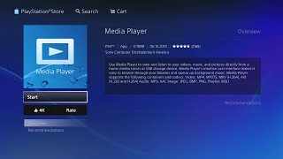 PS4 Media Player (MKV,AVI,MP4,MPEG-2) 60FPS