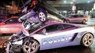 Inseguimenti polizia stradale, USA vs Russia & Italia