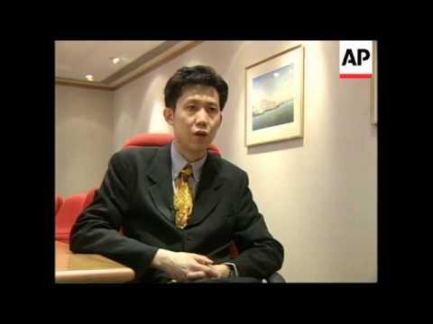 HONG KONG: HANG SENG INDEX FALLS SHARPLY