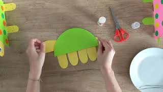 Cute paper turtle craft - you will be done in 5 minutes!