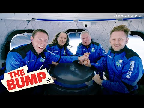 William Shatner reflects on emotional journey into space: WWE's The Bump exclusive interview