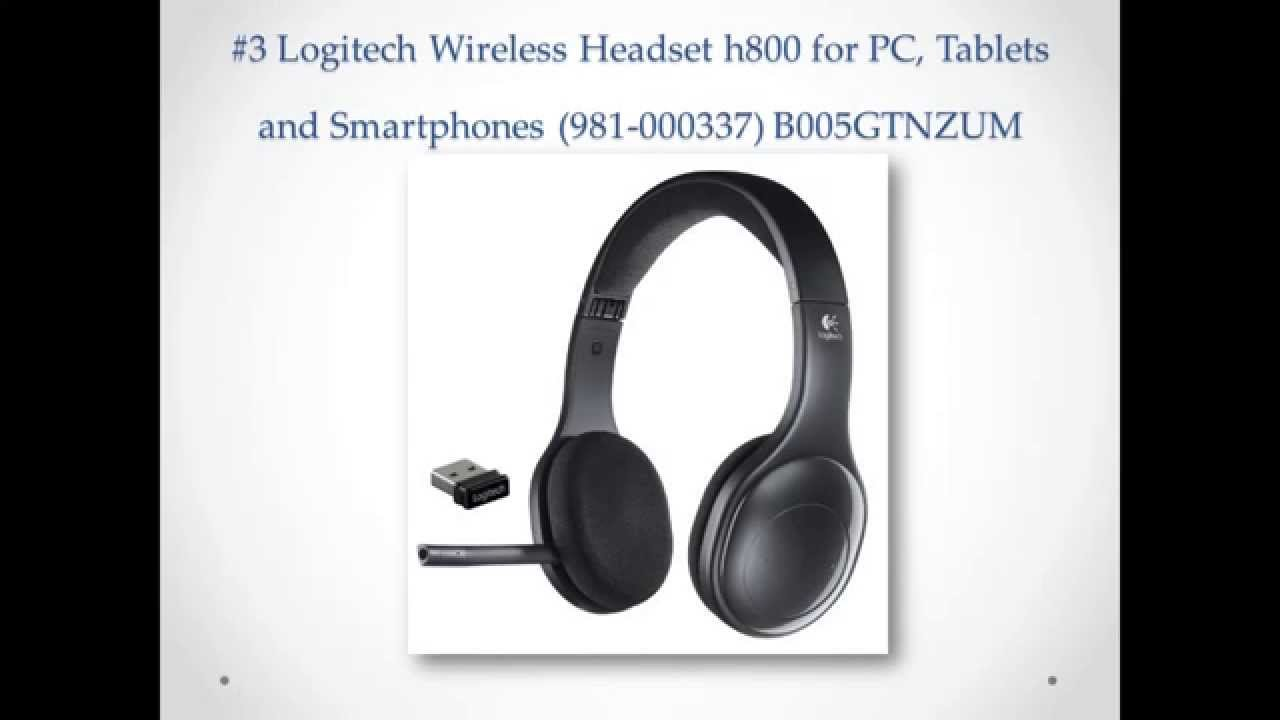 Logitech h800 wireless headset (981-000337): amazon. Ca: computers & tablets. What other items do customers buy after viewing this item?. Mpow usb.